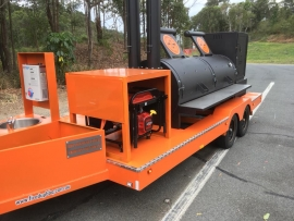 "34"" General Lee Trailer Smoker"